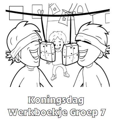 Koningsdag Werkboekje Groep 7