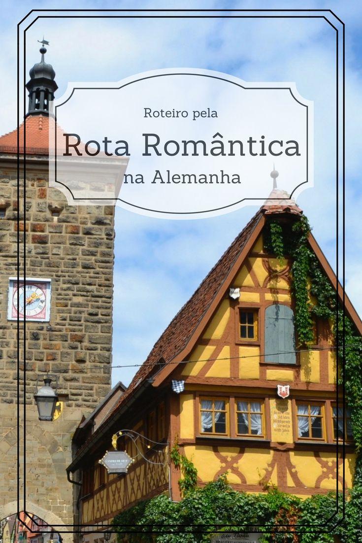 A Rota Romântica é a rota mais popular e conhecida da Alemanha. É um percurso de aproximadamente 380km, entre o rio Main e os alpes, que pas...