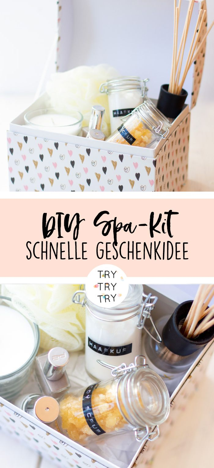 DIY Spa Kit   – diy { trytrytry }