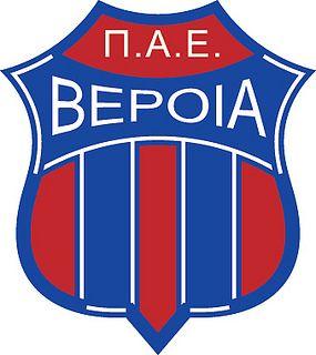 Veria Football Club (Π.Α.Ε. Βέροια) | Country: Greece / Ελλάδα. País: Grecia. | Founded/Fundado: 1960 | Badge/Crest/Logo/Escudo.