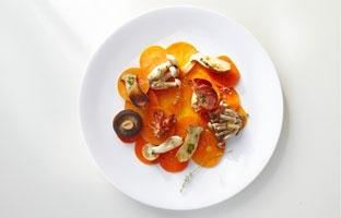 Babel turns food into an organic art...