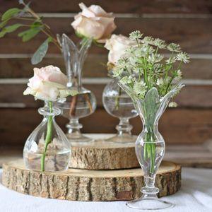 Petal Glass Bud Vase - home