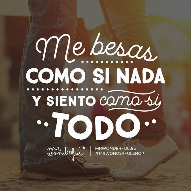 Para besos de verdad ¡los tuyos! #mrwonderfulshop #kisses