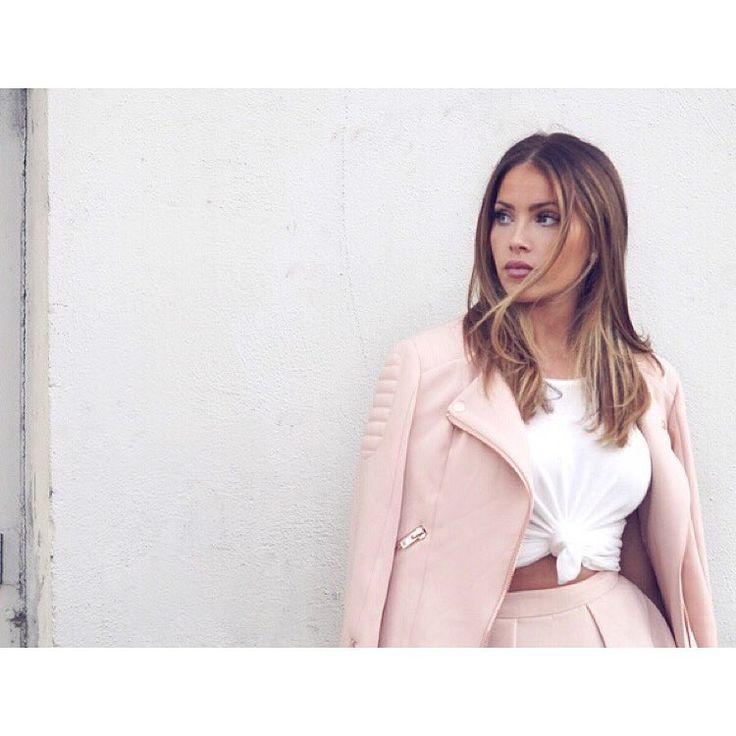 "Olivia Pierson on Instagram: ""•NEW BLOG POST• Link is in my bio: jeromebynatliv.com Jacket/shorts: @stylestalker Top: @davidlernerny | Shot by: @anoukcl | @prettyraw | @infinitycre8ive |"""