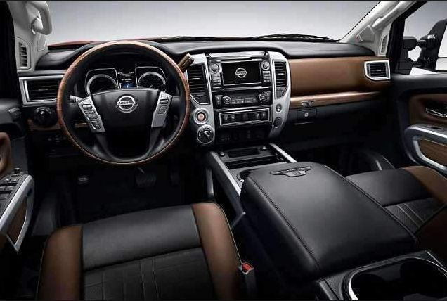 2018 Nissan Navara Interior