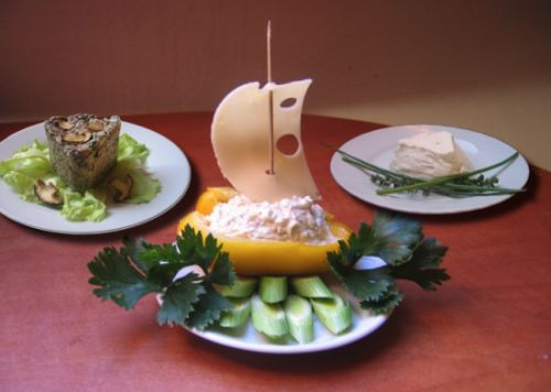 Pomazánky a minimem kalorií