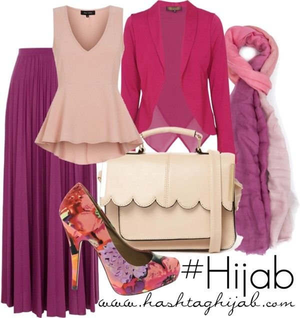 I LOVE these colors. Cute&modest! Wouldn't wear the scarf on my head cause I ain't hijab