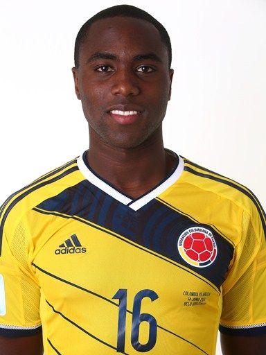 Las fotos oficiales de #Colombia #Fifa #Brasil2014 - Eder Alvares Balanta