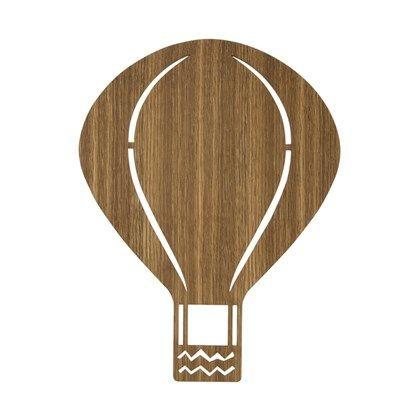 Ferm+Living+Air+Balloon+Lamp+Røget+Eg