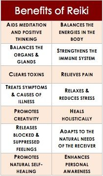 Benefits of #Reiki.