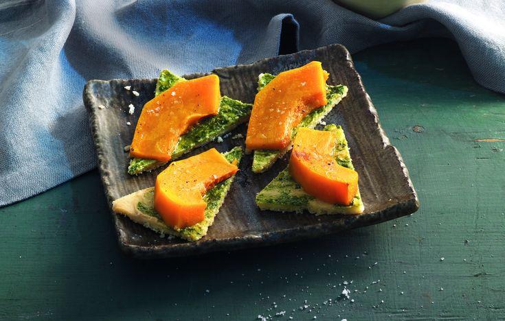 Ricetta Schegge al grana con zucca brasata - La Cucina Italiana: ricette, news, chef, storie in cucina
