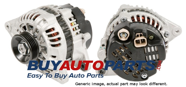 How much does an alternator cost? http://www.buyautoparts.com/howto/how-much-does-an-alternator-cost.htm