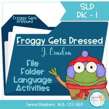Best 25 froggy gets dressed ideas on pinterest froggy goes to froggy gets dressed file folder language activities pronofoot35fo Images