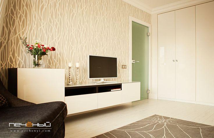 дизайн однокомнатной квартиры, дизайн гостиной, дизайн маленькой квартиры, дизайн кухни, студия Антона Печеного, студия дизайна Антона Печен...