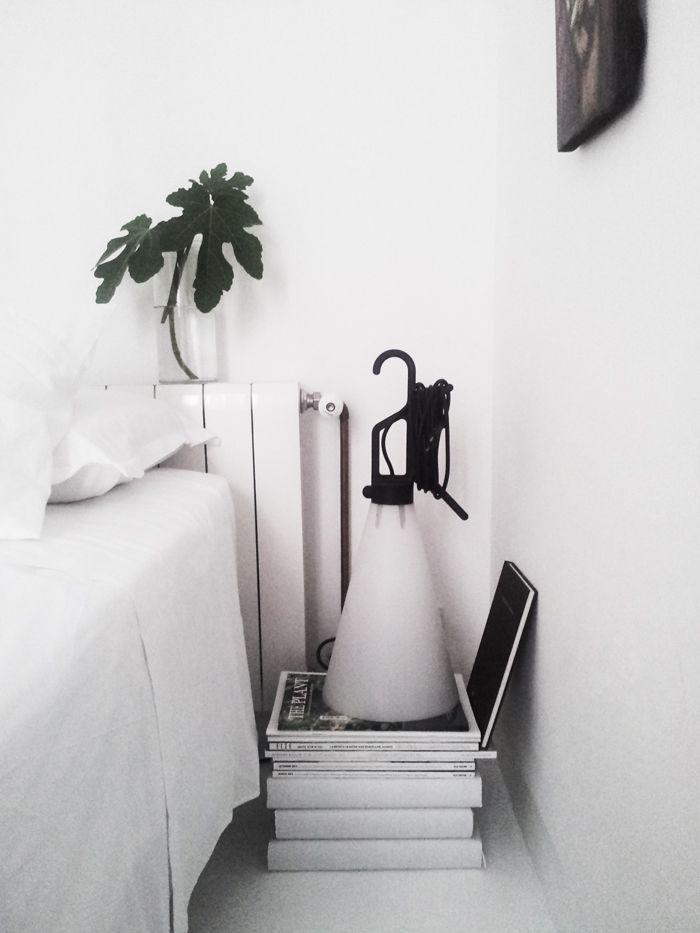 Bedroom detail | May Day Flos | facing north with gracia