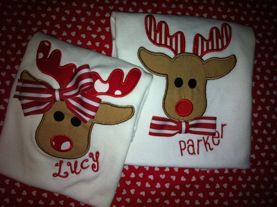 These are so cute! If you're looking for Sibling Christmas shirts, check these out!