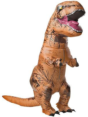 WOW ADULT T-REX INFLATABLE Costume Jurassic World Park Blowup Dinosaur Xmas PTY