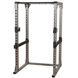 Freedom of movement combined with adjustable racking and safety positions make the Power Rack a must have for those who want to strength train without compromise.  The Body-Solid Power Rack is designed to work with all types of benches and engineered for extreme workouts.