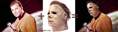 Visual guide to William Shatner as the original Halloween's Micheal Myers! and everything else too: Halloween Trek