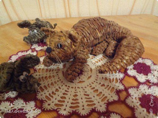 Игрушка Плетение Кошки и мышки Бумага газетная фото 4