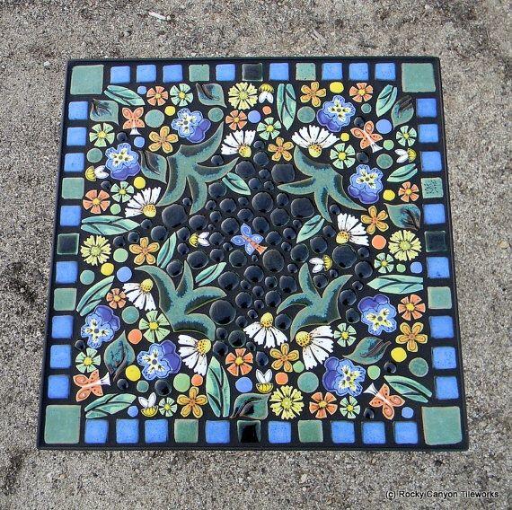 Handmade mosaic coffee table