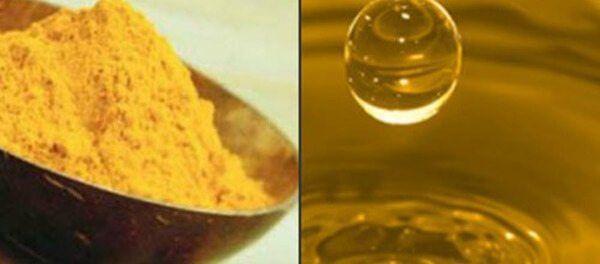 olio curcuma