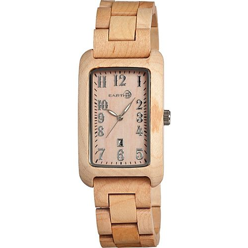 Earth Watches Bark Wood Watch Tan - Earth Watches Watches