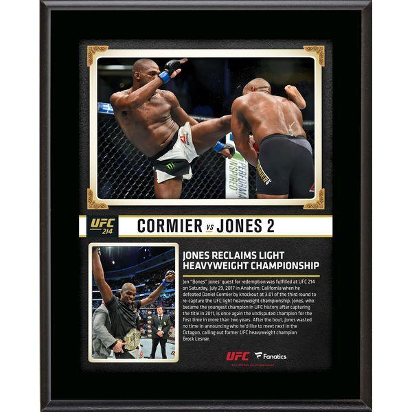 "Jon Jones Ultimate Fighting Championship Fanatics Authentic 10.5"" x 13"" UFC 214 And New Light Heavyweight Champion Sublimated Plaque - $29.99"