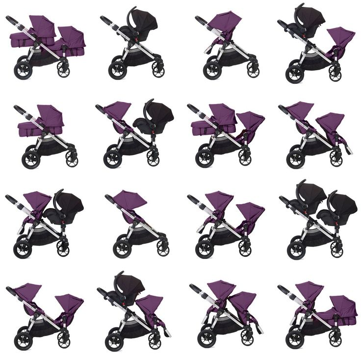 Amazon.com : Baby Jogger City Select Stroller In Ruby : Tandem Strollers : Baby