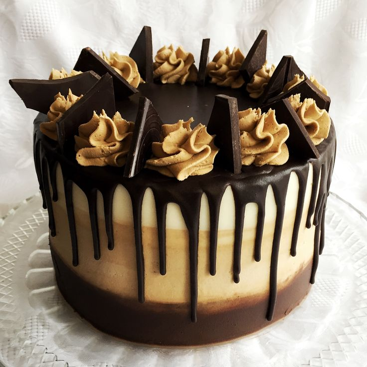Chocolate Cake With Mocha Buttercream Filling