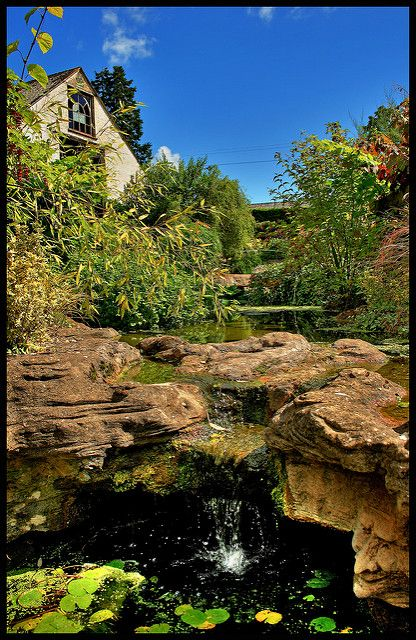 Skryté zahrady a jeskyně z Dewstow (4)