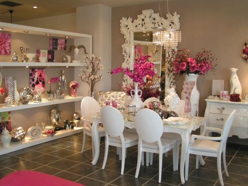 A Super Glam Dining Room Perfect For Any Girly Girl