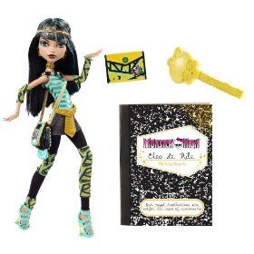 Monster High Cleo De Nile Doll $18.78...