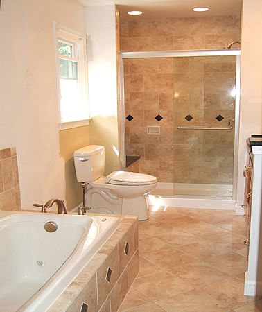 Small master bathroom makeovers bathroom remodeling for Bath remodel fairfax va