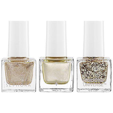 sparkly nail polish trio | sephora
