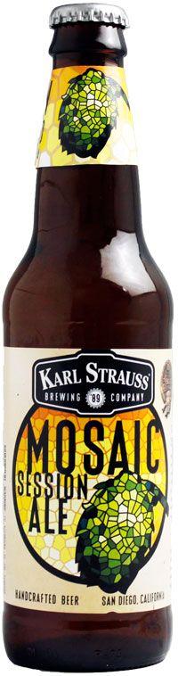 Karl Strauss Brewing Company | Karl Strauss Mosaic Session Ale (カールストラ�