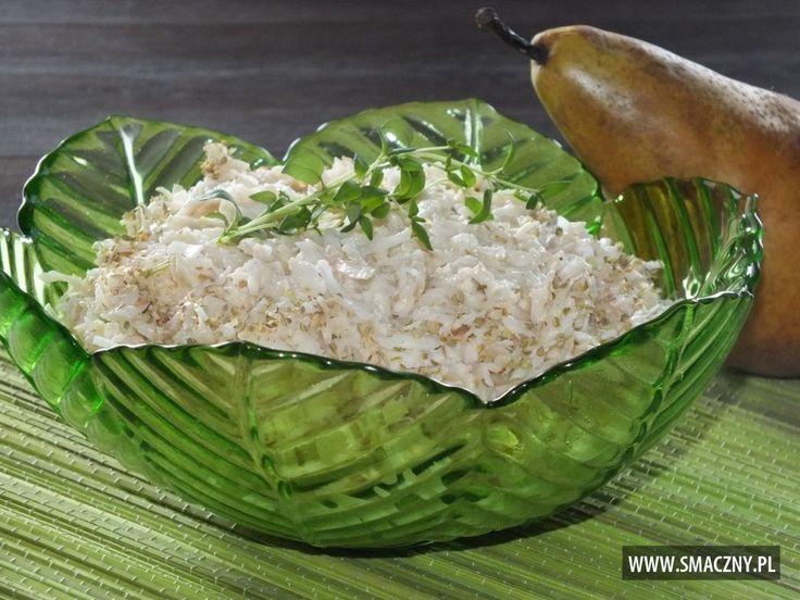 Surówka z selera i gruszki - zdjęcie