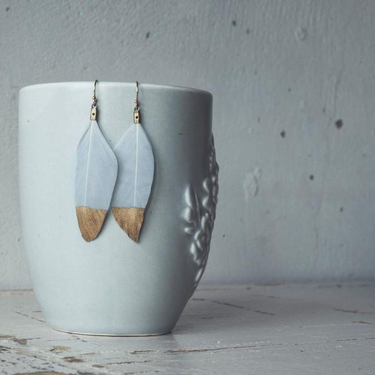 Twigg Feather Earrings