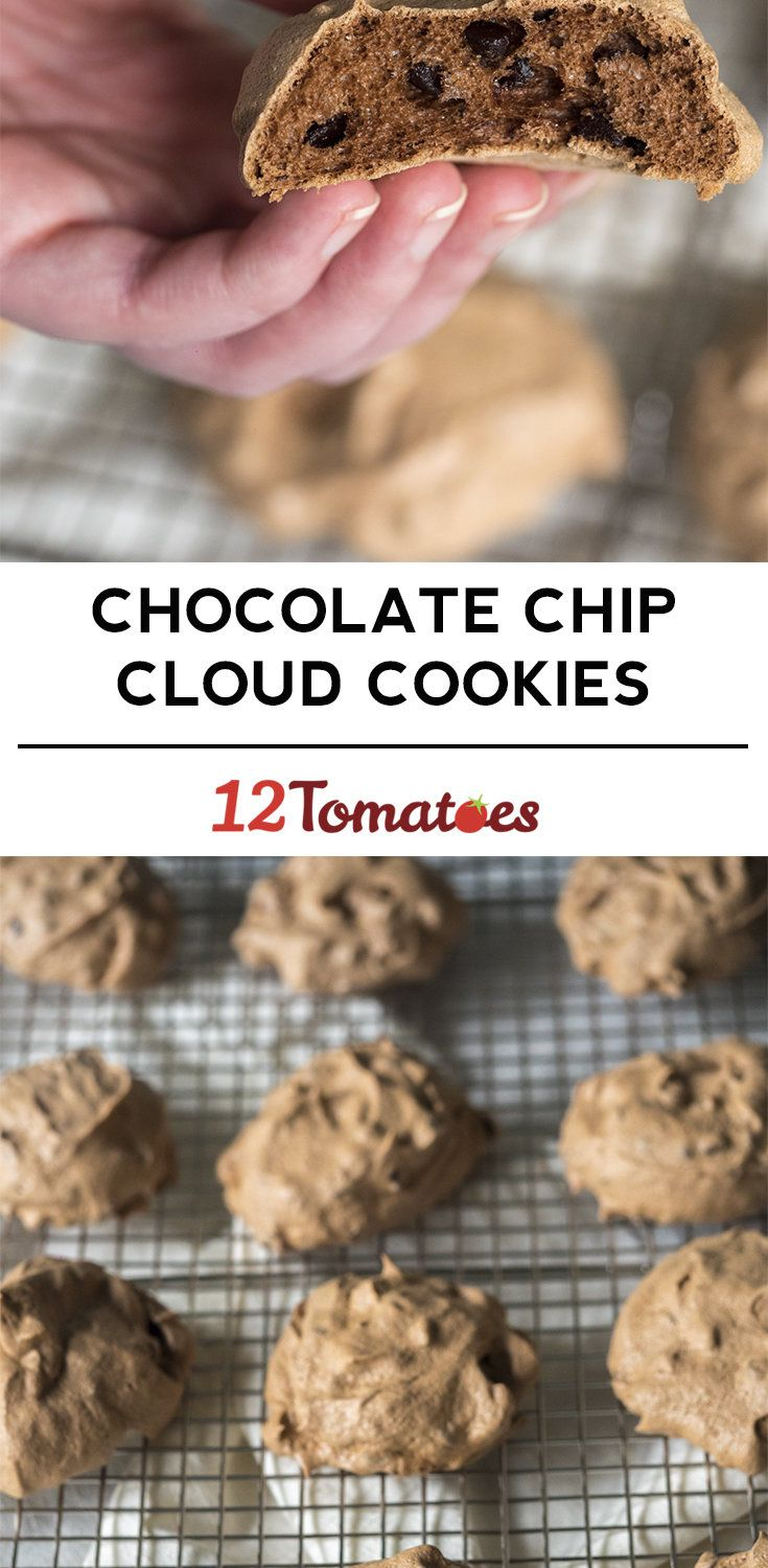 Chocolate Chip Cloud Cookies Use sweetener instead of sugar. Use Lily's Chocolate Chips.