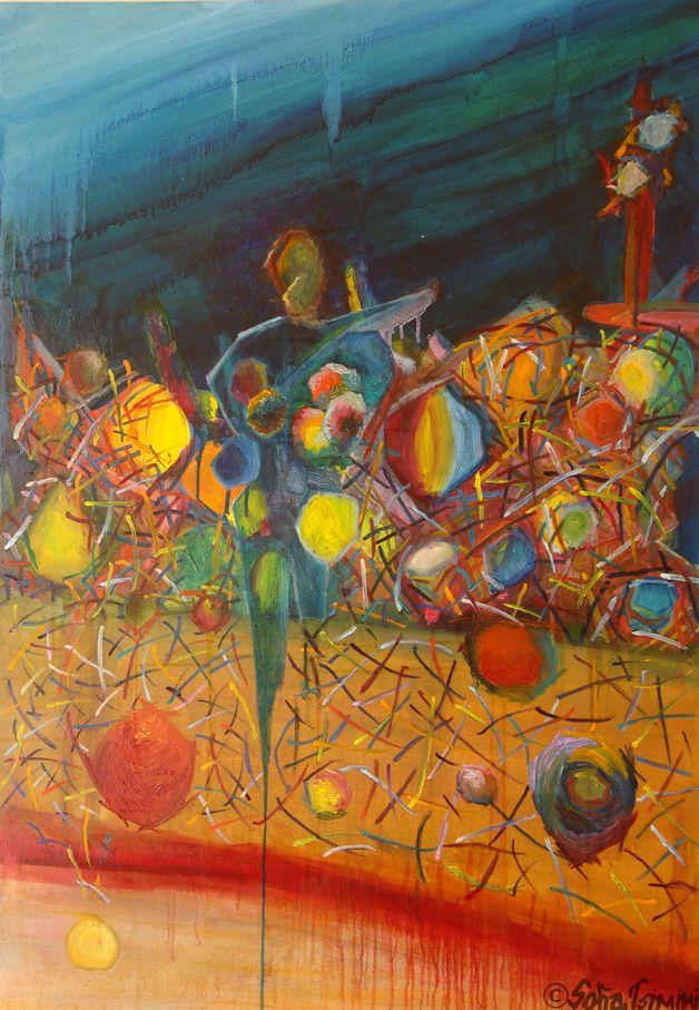 "GICLEE Print of ORIGINAL OIL Painting ""Afidne"""