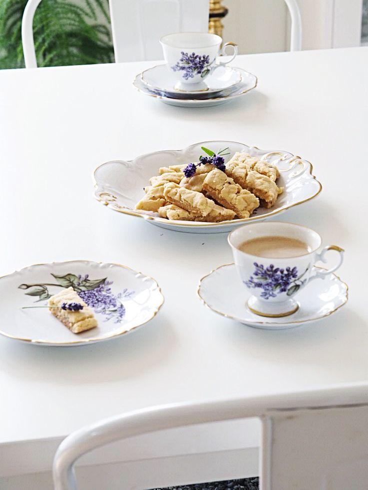 Småkakor med smak av lavendel  #kakor #cookies #recept  #hackefors