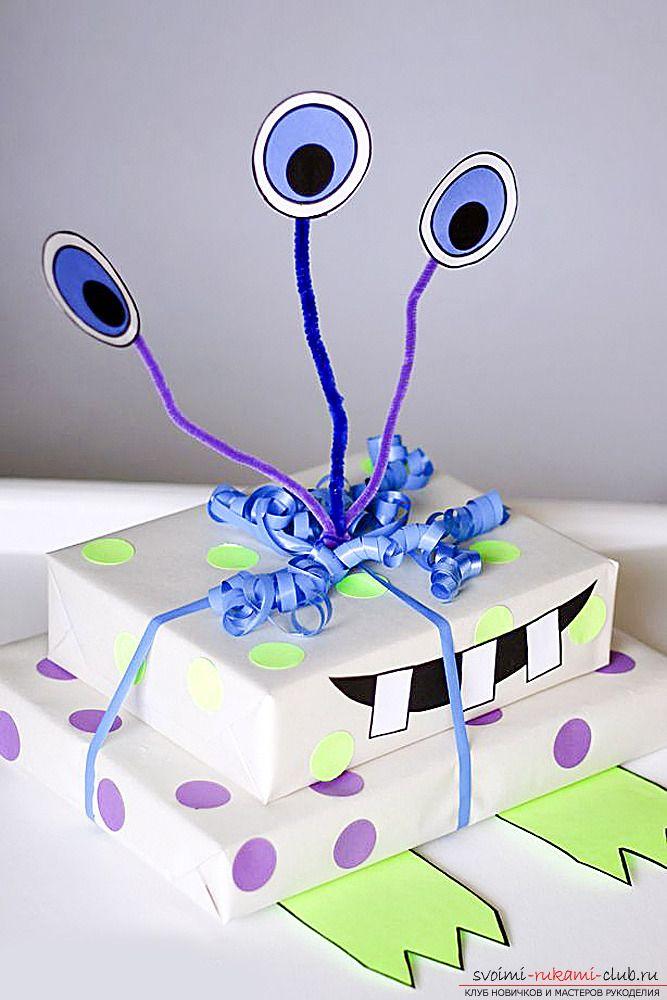 Упаковка детских подарков своими руками. 8 лучших идей, как прикольно и ярко упаковать подарки для детей   svoimi-rukami-club.ru