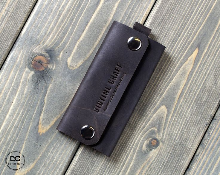 Leather key case case for keys leather key holder key chain