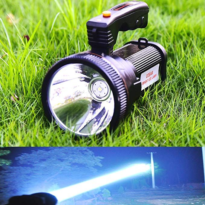 Odear Super Bright Headlamp Rechargeable LED Spotlight with Battery Powered...
