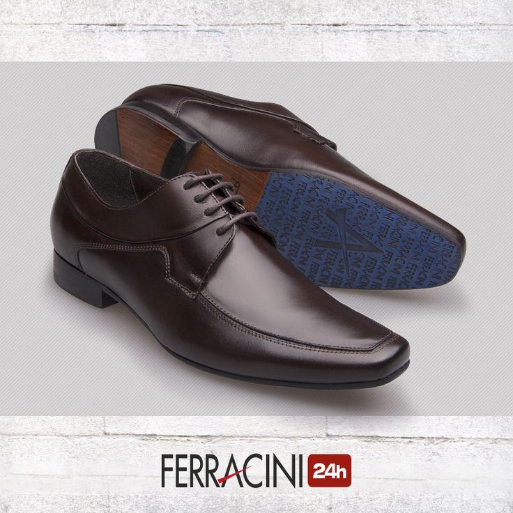 O modelo Madrid 4087B tem o solado produzido em couro com antiderrapante personalizado a laser. 😉  Encontre aqui:http://bit.ly/29hsmPQ    #ferracini24h #shoes #cool #trend #brasil #manshoes