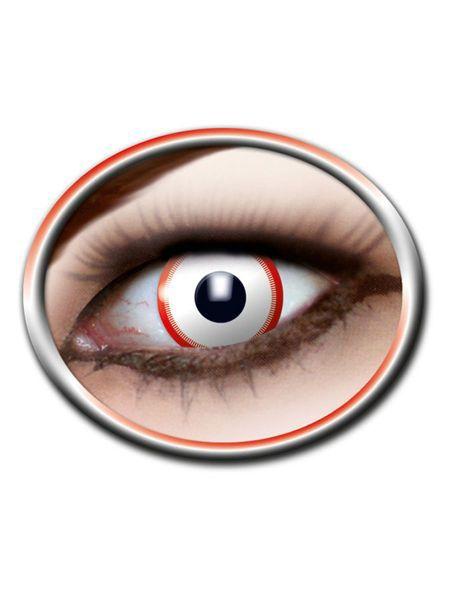 """https://11ter11ter.de/52941168.html 12 Monats Kontaktlinsen """"Saw"""" #11ter11ter #party #karneval #fasching #halloween #zombie #untot #braut #bride #lenses #kontaktlinsen"""