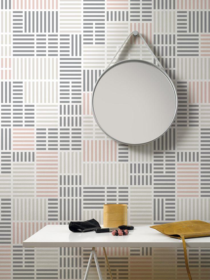 Newspaper / non-woven wallpaper / lavmi