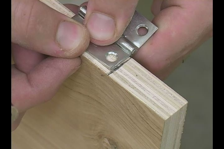 Video: How to Install Door Hinges on a Bookshelf Gonna have maintenance secure bookshelves to the wall and then add doors like this!