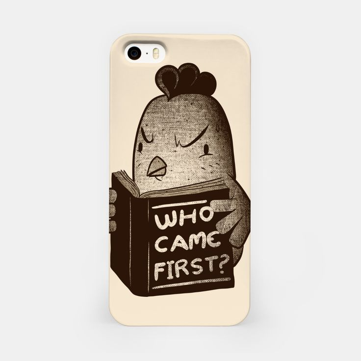 Chicken Who Came First iPhone Case, Live Heroes