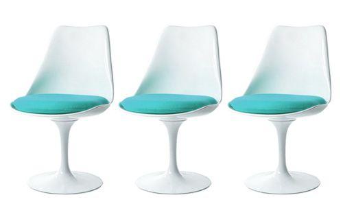 Tulip chair (1956), de Eero Saarinen, icono de estilo Mid Century Modern